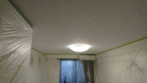 天井張替え完成です。